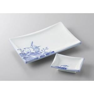 サイズ:焼物皿W20.5×D14×H3.2cm     小皿W9.2×D6.5×H2.8cm 材 質...