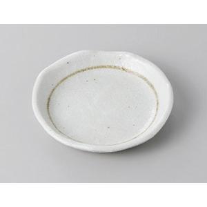 小皿 丸皿 粉引 豆皿 9.8cm おしゃれ 和食器 業務用 美濃焼 7a278-7-71f shikisaionline