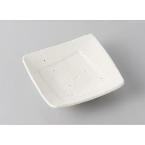 小皿 角皿 白 豆皿 9cm おしゃれ 和食器 業務用 美濃焼 7a272-28-43f shikisaionline