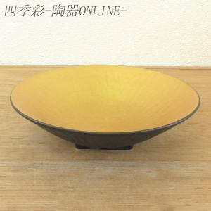 刺身皿 向付 金ベタトチリ丸皿 和食器 業務用 9a38-12-21g