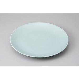 万古焼の業務用食器の大皿、丸皿です。 内容:丸皿×1 サイズ:W41×H5cm 材質:磁器 日本製(...