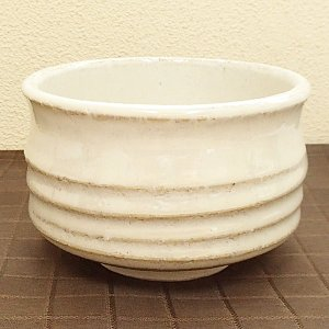 抹茶茶碗 白萩 美濃焼 陶器 茶道具