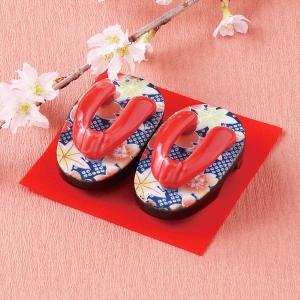 下駄の置物 豆下駄 もみじ 箱入り 縁起物 ギフト プレゼント 日本製|shikisaionline