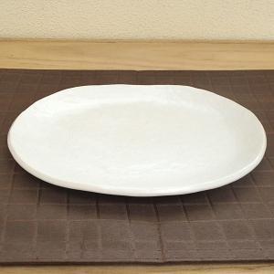 焼物皿 小判皿 21.7cm ホワイト 在庫限り 在庫処分 セール 美濃焼 業務用 食器