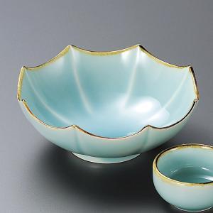 刺身皿と醤油小皿のセット。多彩な料理に対応できる業務用和食器です。 サイズ:渕錆マリンブルー八角中鉢...