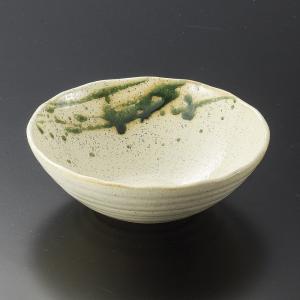 刺身鉢 向付 織部伊吹丸盛鉢中 和食器 業務用 美濃焼 9d08405-548|shikisaionline