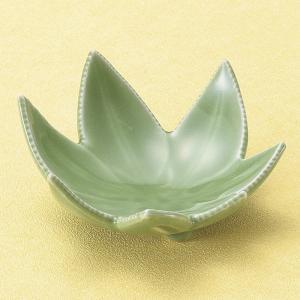 小鉢 紅葉 緑珍味 おしゃれ 業務用 和食器 美濃焼 9d14802-258|shikisaionline
