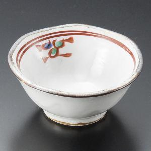 小鉢 珍味 赤絵花千代口 おしゃれ 業務用 和食器 美濃焼 9d14409-148|shikisaionline