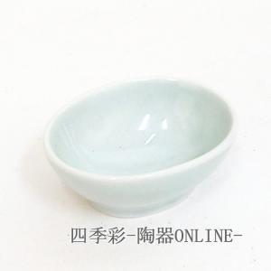 小鉢 青磁楕円珍味 強化磁器 おしゃれ 業務用 和食器 美濃焼 9d15038-558 shikisaionline