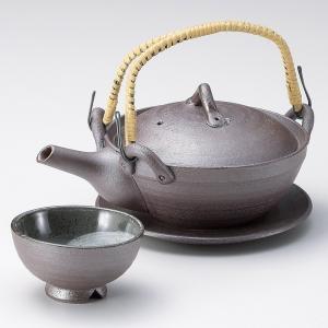 土瓶蒸し セット 南蛮京風土瓶む 直火可 万古焼 業務用|shikisaionline