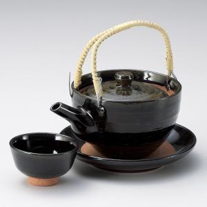 土瓶蒸し セット 窯変天目土瓶むし 直火可 万古焼 業務用|shikisaionline