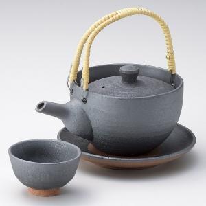 土瓶蒸し セット 黒燻し土瓶むし 直火可 万古焼 業務用|shikisaionline