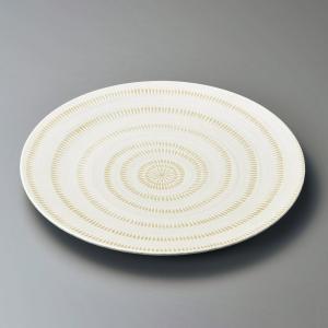 大皿 かんなメタ9.0皿 和皿 業務用 美濃焼 shikisaionline