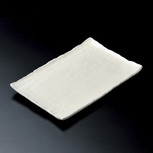大皿 粉引寿司皿 長角皿 和食器 業務用 美濃焼|shikisaionline