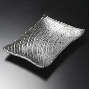 盛り皿 黒御影角皿26cm 和食器 業務用 美濃焼 shikisaionline