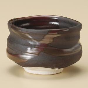 抹茶茶碗 赤流し抹茶椀 美濃焼|shikisaionline