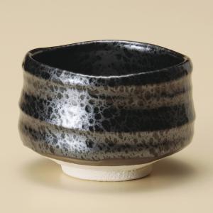 抹茶茶碗 油滴抹茶椀 美濃焼|shikisaionline