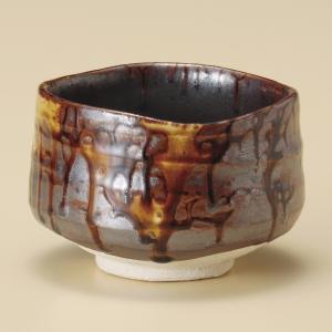 抹茶茶碗 飴流し抹茶椀 美濃焼|shikisaionline