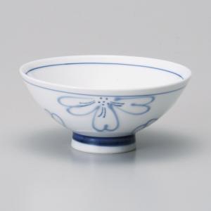 ご飯茶碗 一珍花割中平飯碗 強化磁器 和食器 美濃焼 業務用|shikisaionline