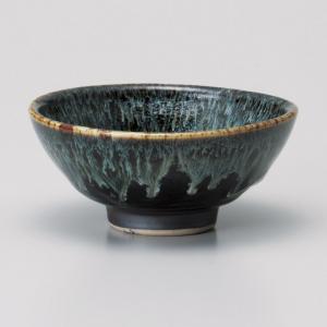 ご飯茶碗 ゆず天目白糸中平飯碗 和食器 美濃焼 業務用|shikisaionline