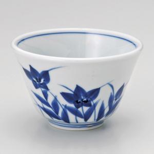 湯呑み 湯飲み 湯のみ茶碗 青磁桔梗反仙茶 有田焼 和食器 業務用 shikisaionline