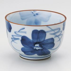 湯呑み 湯飲み 湯のみ茶碗 染花紋反仙茶 有田焼 和食器 業務用 shikisaionline