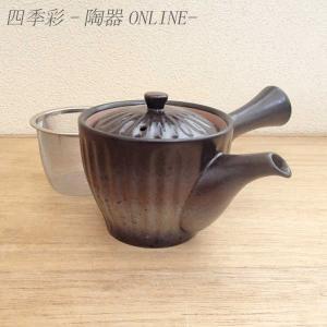 急須 黒備前菊型急須 茶器 業務用 美濃焼|shikisaionline