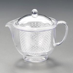 急須 耐熱樹脂ポット L クリアー 茶器 業務用|shikisaionline