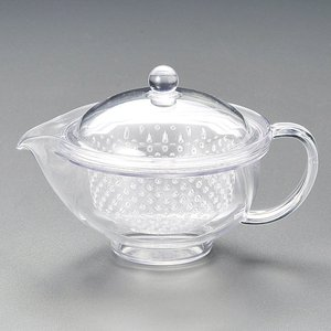 急須 耐熱樹脂ポット S クリアー 茶器 業務用|shikisaionline