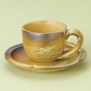 コーヒーカップ ソーサー 古信楽 和陶器 おしゃれ 業務用 信楽焼 9d72869-668|shikisaionline