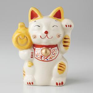 招き猫 置物 古瀬戸招猫 とら 箱入り プレゼント ギフト 招き猫 置物 縁起物 shikisaionline