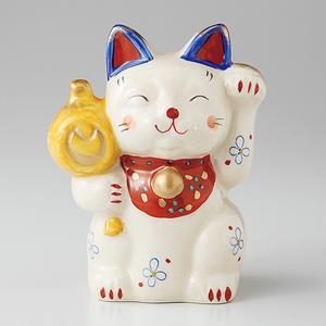 招き猫 置物 古瀬戸招猫 染 箱入り プレゼント ギフト 招き猫 置物 縁起物 shikisaionline