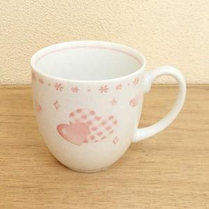 マグカップ 丸マグ ハート ピンク 箱入り プレゼント ギフト 父の日 母の日 敬老の日|shikisaionline