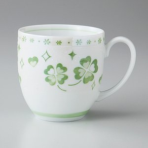 マグカップ 丸マグ クローバー グリーン 箱入り プレゼント ギフト 父の日 母の日 敬老の日|shikisaionline