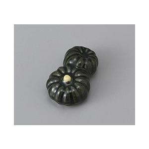 箸置き かぼちゃ 双子 おしゃれ 美濃焼 業務用9a430-25-8g|shikisaionline