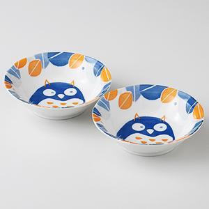 和食器 小鉢 2個セット 森の福郎 箱入り プレゼント ギフト 父の日 母の日 敬老の日|shikisaionline