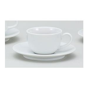 コーヒーカップ ティーカップ 兼用碗 ソーサー ホテル ベーシック 業務用 美濃焼 9a772-72-43g|shikisaionline