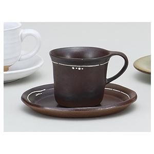 コーヒーカップ ソーサー 茶天目フローラ コーヒーカップ 陶器 おしゃれ 美濃焼 業務用 9a777-33-32g|shikisaionline