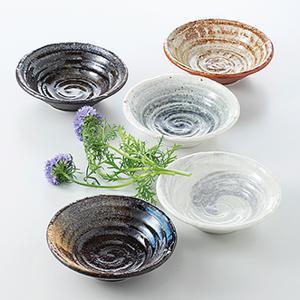 和食器 小鉢 5個セット 荒彫 箱入り プレゼント ギフト 父の日 母の日 敬老の日 shikisaionline