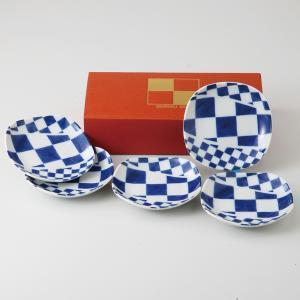 和食器 小皿 5個セット 元禄小粋シリーズ 箱入り ギフト プレゼント 日本製|shikisaionline