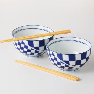 和食器 どんぶり 2個セット 元禄小粋シリーズ 箱入り ギフト プレゼント 日本製|shikisaionline
