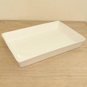 31.5cm角パッド 白 業務用 美濃焼 k935061|shikisaionline