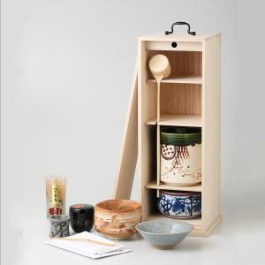茶道具セット 白桐短冊揃 茶道道具一式 箱入り ギフト プレゼント 6a34-53