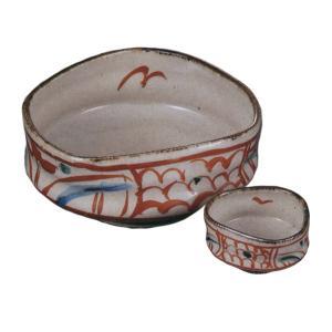 温かみと落ち着きを感じさせる刺身鉢と醤油小皿のセットです。  内容:刺身鉢×1、ちょこ×1 サイズ:...