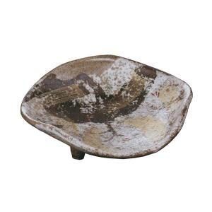 刺身鉢 三ツ足向付 金彩唐津 刺身皿 業務用 美濃焼 9b018-30