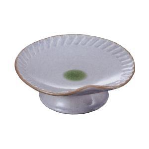 刺身皿 高台皿 淵彫 業務用 和食器 美濃焼 9b022-37