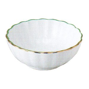 小鉢 珍味 緑金渕 強化磁器 おしゃれ 和食器 業務用 美濃焼 9b095-25|shikisaionline