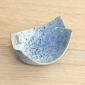 小鉢 珍味 笹型金差吹墨 おしゃれ 和食器 業務用 美濃焼 9b095-26|shikisaionline