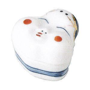 小鉢 蓋付珍味 染錦おかめ おしゃれ 和食器 業務用 美濃焼 9b100-21|shikisaionline