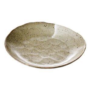 中皿 楕円皿 唐津白刷毛 24.5cm おしゃれ 和食器 業務用 美濃焼 9b197-12